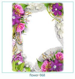 flower Photo frame 968