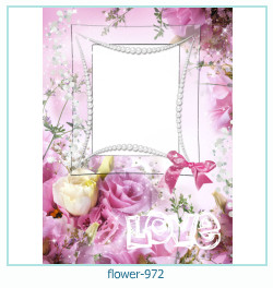 flower Photo frame 972