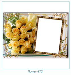flower Photo frame 973