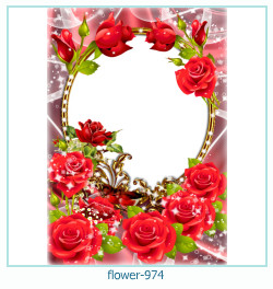flower Photo frame 974
