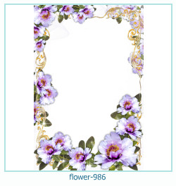 flower Photo frame 986