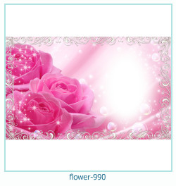 flower Photo frame 990