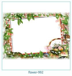 flower Photo frame 992