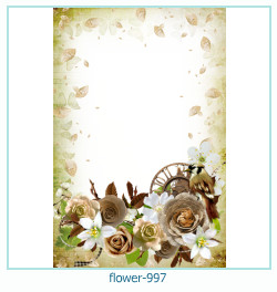 flower Photo frame 997