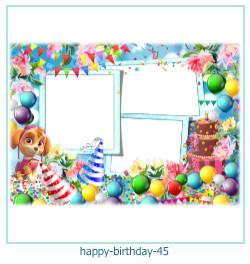 buon compleanno cornici 45