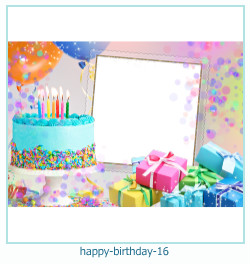 happy birthday frames 16