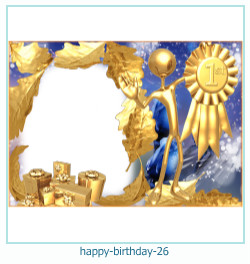 Alles Gute zum Geburtstag Rahmen 26