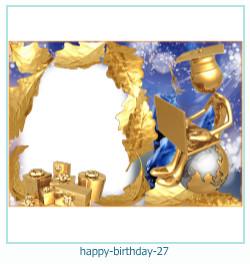 buon compleanno cornici 27