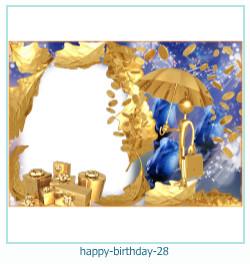 buon compleanno cornici 28
