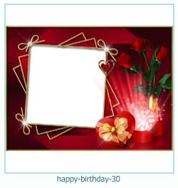 buon compleanno cornici 30