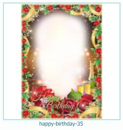 buon compleanno cornici 35