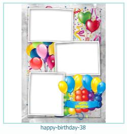 Alles Gute zum Geburtstag Rahmen 38