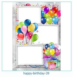 buon compleanno cornici 39