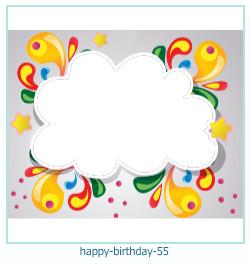 všechno nejlepší k narozeninám rámce 55