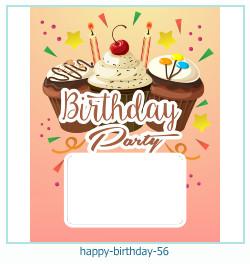 všechno nejlepší k narozeninám rámce 56