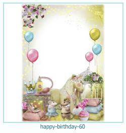 všechno nejlepší k narozeninám rámce 60