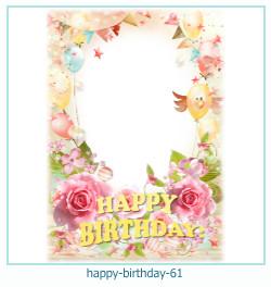 všechno nejlepší k narozeninám rámce 61