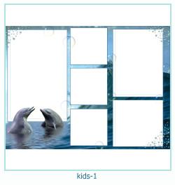 niños múltiples marco de fotos 1