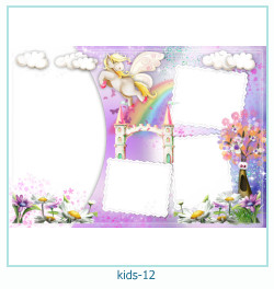 कई बच्चों के फोटो फ्रेम 12