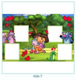 कई बच्चों के फोटो फ्रेम 7
