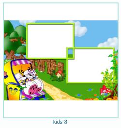 niños múltiples marco de fotos 8