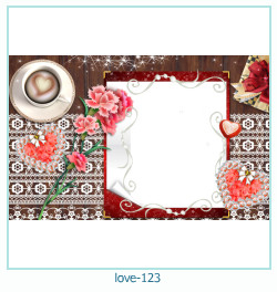 love Photo frame 123