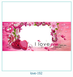 love Photo frame 191