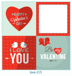 love Photo frame 215