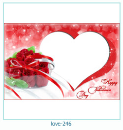 love Photo frame 246