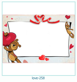 love Photo frame 258