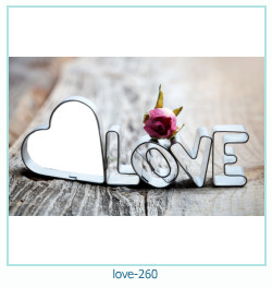 love Photo frame 260