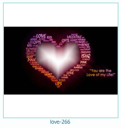 love Photo frame 266
