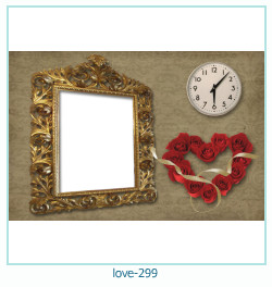 love Photo frame 299