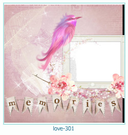 love Photo frame 301