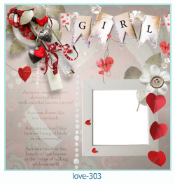 love Photo frame 303