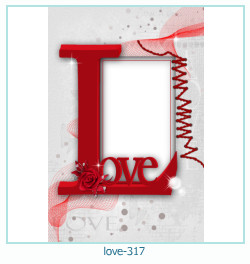 love photo frame 317