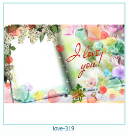 love Photo Frame 319