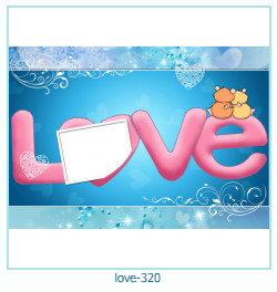 love Photo Frame 320