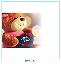 love Photo frame 322