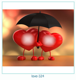 love Photo frame 324