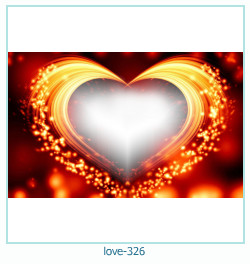 love Photo frame 326
