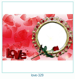 love Photo frame 329