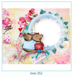 love Photo Frame 352