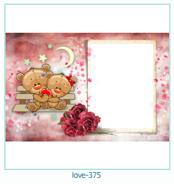 love Photo frame 375