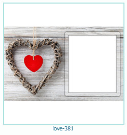 love Photo frame 381