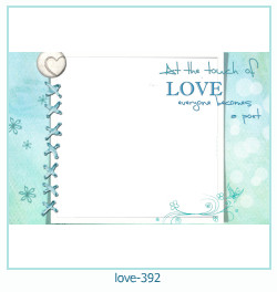 love Photo frame 392