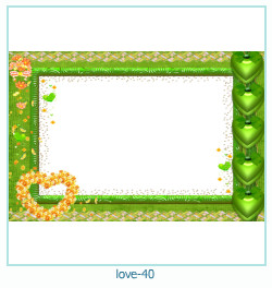 love Photo frame 40