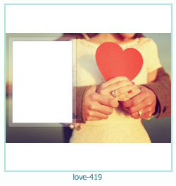 love Photo frame 419