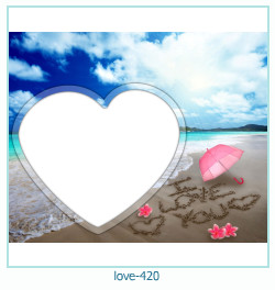 love Photo frame 420