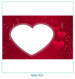 love Photo frame 421